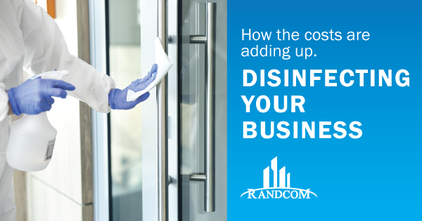 cost disinfecting sanitizing business