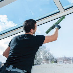 commercial window cleaning Detroit area